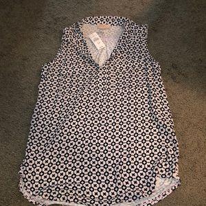 NWT Loft petite tank blouse
